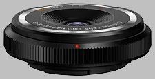 image of Olympus 9mm f/8 BCL-0980 Fisheye Body Cap Lens