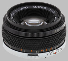 image of the Olympus 50mm f/1.8 OM F.Zuiko lens