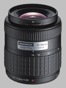 image of the Olympus 14-45mm f/3.5-5.6 Zuiko Digital lens