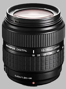 image of the Olympus 18-180mm f/3.5-6.3 Zuiko Digital lens