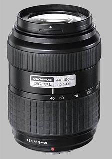 image of the Olympus 40-150mm f/3.5-4.5 Zuiko Digital lens