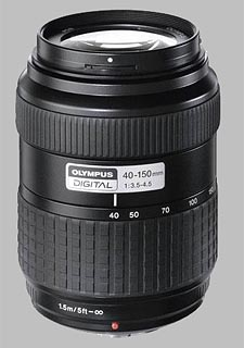 image of the Olympus 40-150mm f/3.5-4.5 Zuiko Digital lens