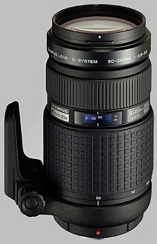 image of the Olympus 50-200mm f/2.8-3.5 Zuiko Digital lens