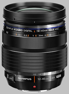 image of the Olympus 12-40mm f/2.8 Pro M.Zuiko Digital ED lens