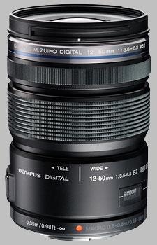 image of the Olympus 12-50mm f/3.5-6.3 EZ M.Zuiko Digital ED lens