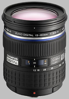 image of the Olympus 12-60mm f/2.8-4 ED SWD Zuiko Digital lens