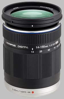 image of the Olympus 14-150mm f/4-5.6 ED M.Zuiko Digital lens