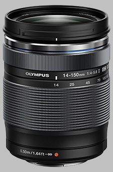 image of the Olympus 14-150mm f/4-5.6 II M.Zuiko Digital ED lens