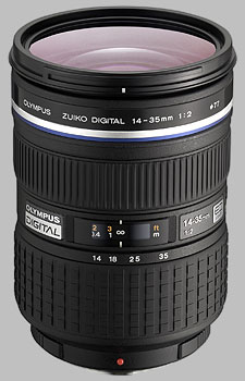 image of the Olympus 14-35mm f/2 ED SWD Zuiko Digital lens
