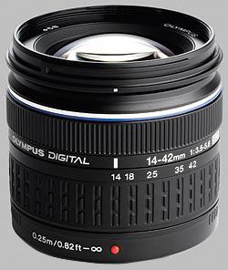 image of the Olympus 14-42mm f/3.5-5.6 ED Zuiko Digital lens