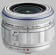 image of the Olympus 14-42mm f/3.5-5.6 ED M.Zuiko Digital lens