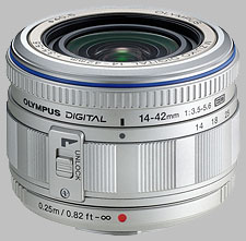image of the Olympus 14-42mm f/3.5-5.6 ED M.Zuiko Digital lens