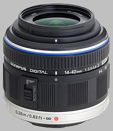 image of the Olympus 14-42mm f/3.5-5.6 II M.Zuiko Digital lens