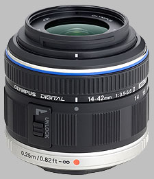 image of the Olympus 14-42mm f/3.5-5.6 II M.Zuiko Digital lens
