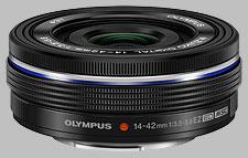 image of the Olympus 14-42mm f/3.5-5.6 EZ ED M.Zuiko Digital lens