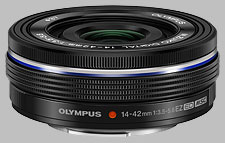 image of the Olympus 14-42mm f/3.5-5.6 EZ ED M.Zuiko Digital lens