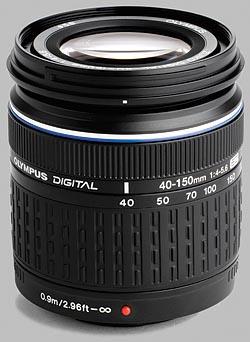 image of the Olympus 40-150mm f/4-5.6 ED Zuiko Digital lens