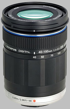 image of the Olympus 40-150mm f/4-5.6 ED M.Zuiko Digital lens