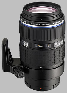 image of the Olympus 50-200mm f/2.8-3.5 ED SWD Zuiko Digital lens