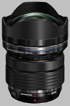 image of the Olympus 7-14mm f/2.8 Pro M.Zuiko Digital ED lens