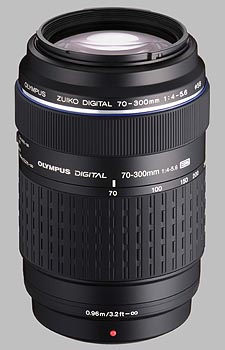 image of the Olympus 70-300mm f/4-5.6 ED Zuiko Digital lens