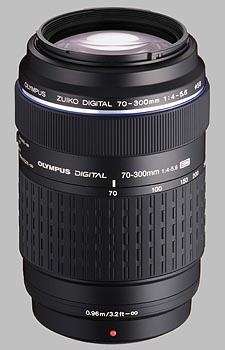 image of the Olympus 70-300mm f/4-5.6 ED Zuiko Digital lens