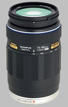 image of the Olympus 75-300mm f/4.8-6.7 ED M.Zuiko Digital lens