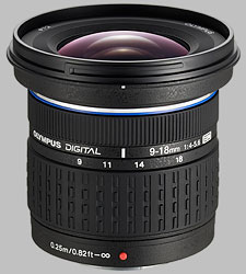 image of the Olympus 9-18mm f/4-5.6 ED Zuiko Digital lens