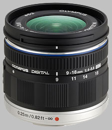 image of the Olympus 9-18mm f/4-5.6 ED M.Zuiko Digital lens