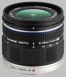 image of the Olympus 9-18mm f/4-5.6 ED M.Zuiko Digital lens