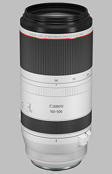 image of the Canon RF 100-500mm f/4.5-7.1 L IS USM lens