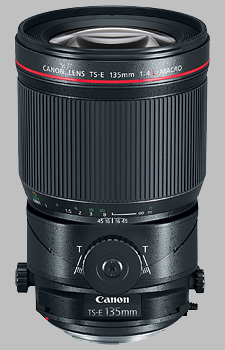 image of the Canon TS-E 135mm f/4L Macro lens