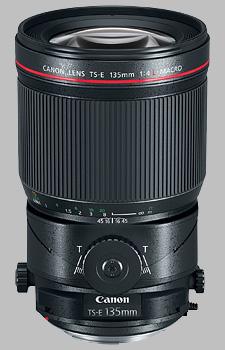 image of the Canon TS-E 135mm f/4L Macro lens