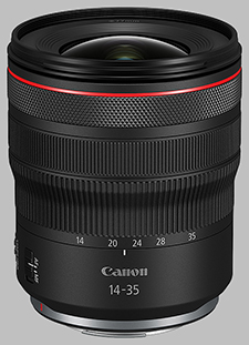 image of the Canon RF 14-35mm f/4L IS USM lens