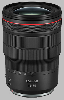 image of the Canon RF 15-35mm f/2.8L IS USM lens
