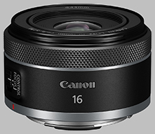 image of the Canon RF 16mm f/1.8 STM lens
