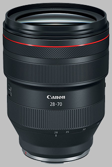 image of the Canon RF 28-70mm f/2L USM lens