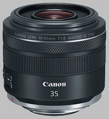 image of the Canon RF 35mm f/1.8 Macro IS STM lens