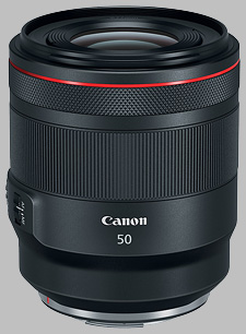 image of the Canon RF 50mm f/1.2L USM lens
