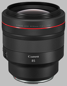 image of the Canon RF 85mm f/1.2L USM lens