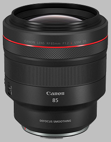 image of the Canon RF 85mm f/1.2L USM DS lens