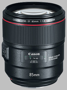 image of the Canon EF 85mm f/1.4L IS USM lens