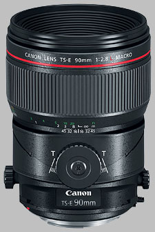 image of the Canon TS-E 90mm f/2.8L Macro lens