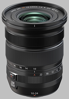 image of the Fujinon XF 10-24mm f/4 R OIS WR lens