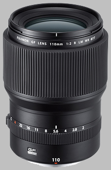 image of the Fujinon GF 110mm f/2 R LM WR lens