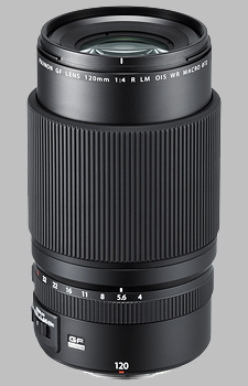 image of the Fujinon GF 120mm f/4 R LM OIS WR Macro lens
