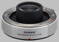 image of the Fujinon XF 1.4X TC F2 WR lens