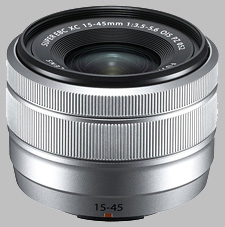 image of the Fujinon XC 15-45mm f/3.5-5.6 OIS PZ lens
