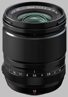 image of Fujinon XF 18mm f/1.4 R LM WR