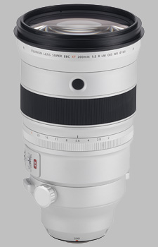 image of the Fujinon XF 200mm f/2 R LM OIS WR + XF 1.4X TC F2 WR Kit lens